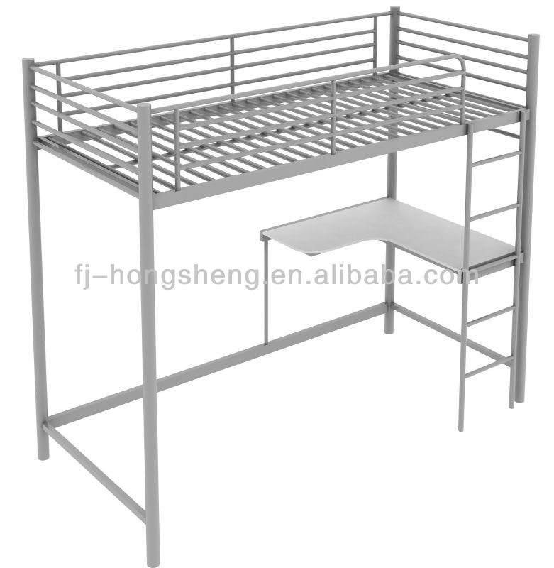 metall hochbett mit schreibtisch kinderm bel set produkt. Black Bedroom Furniture Sets. Home Design Ideas