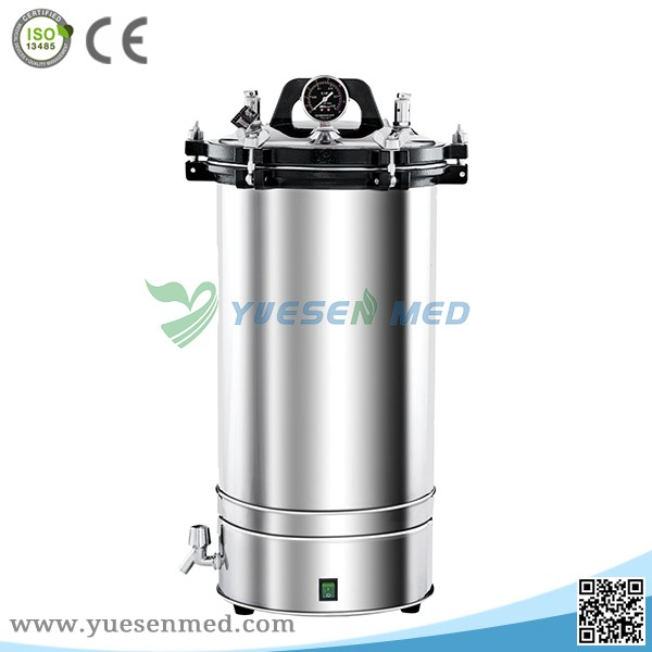 Dual heating system 18L/24L stainless steel sterilizer for operating room