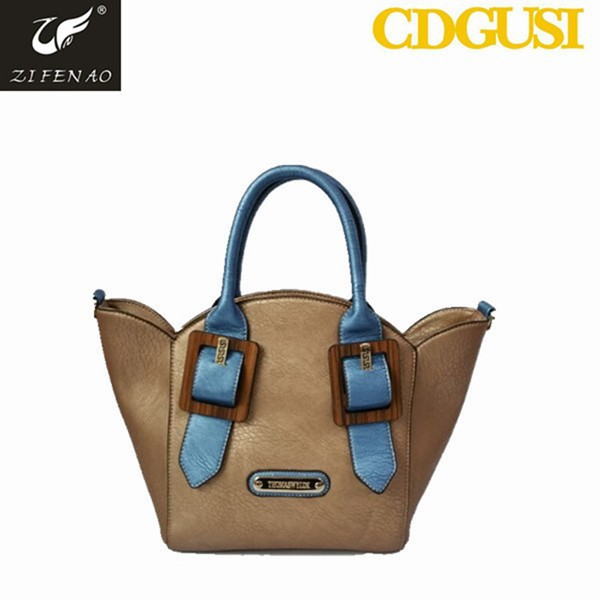 New fashion and noble PU leather channel bag for lady noble PU leather bags