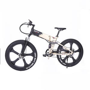 Street Super Moped Full Suspension Folding Big Tyre Fold Up Urban Electric Mountain Fat Tire Bike