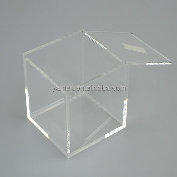 Acrylic Box With A Hinge Lidyuanwenjuncom