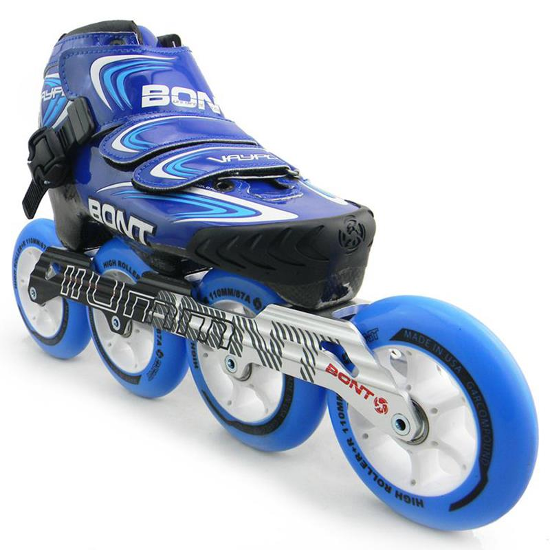 Get Quotations · BONT Professional Adults Inline Speed Skating Shoes  Rollerblade Skates Roller Skate Patins Rollerblade Wheels 0e3cca9008