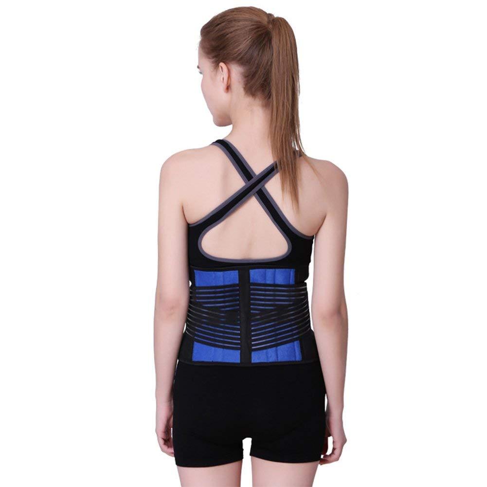 TSAR003 Waist Trainer For Men Women Ab Belt Sweat Belt Sauna Slim Weight Loss Belt Adjustable Stomach Fat Burner Wrap And Back Support Belt Lumbar Support