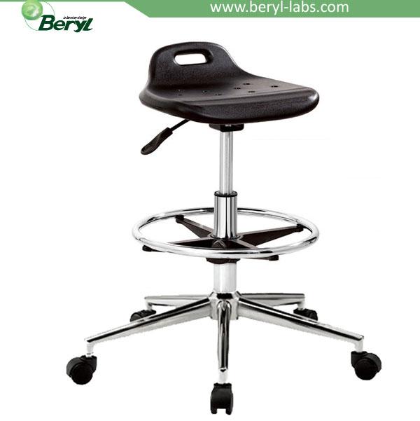 Lab Chairs/adjustable Laboratory Stool With Wheels/lab Stool   Buy  Adjustable Lab Stool,Lab Chairs,Lab Stool Product On Alibaba.com