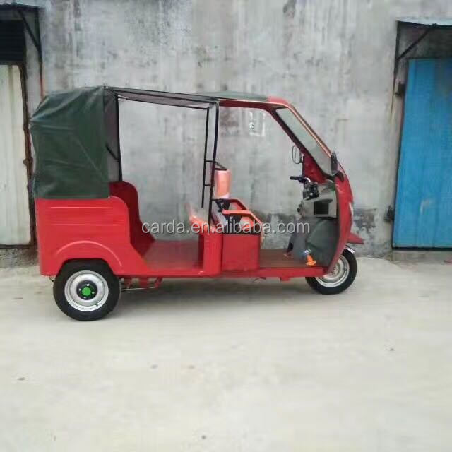 Battery Operate passenger bajaj three wheeler auto rickshaw for sale