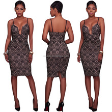 NS0587 african ladies fashion sexy bandage dresses wrapped lace club dresses