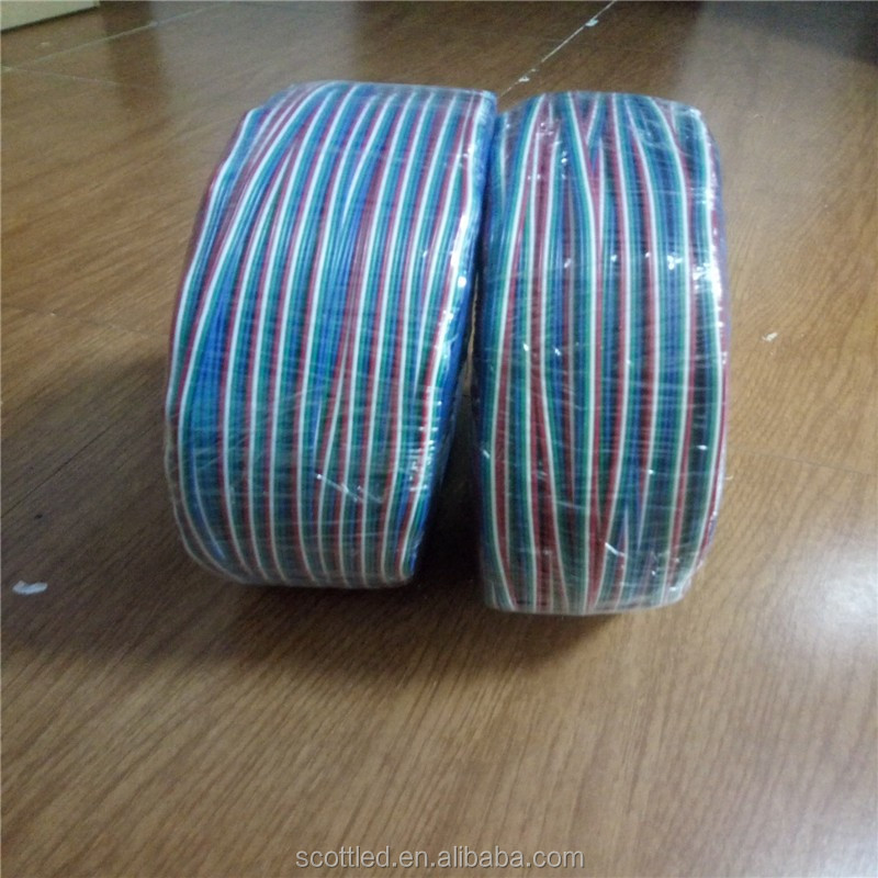 4Pin Flat RGB Cable Wire for LED strip Light