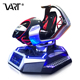 4 Different Games Simulator Car Racing VR Amazing Electric Platform Virtual Reality Interactive Vr Driving Play Equipment