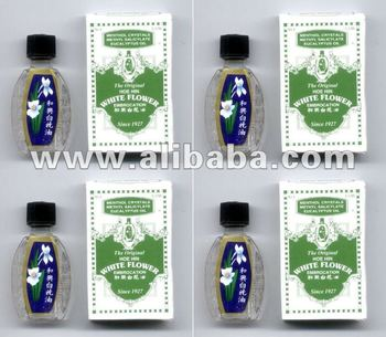 4 White Flower Oil Embrocation For Dizziness Insect Bites Buy
