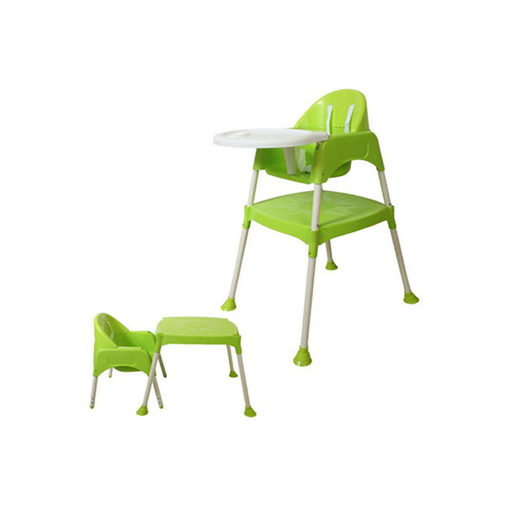 Hot Sale Light Weight Kids Table Stool Eating Feeding Plastic Baby High Chair
