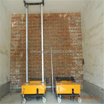Construction tool automatic wall plastering machine for sale