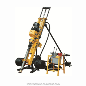 Portable Diesel DTH Drilling Rig Rock Drilling Machine for sale