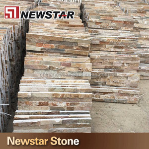Ledge stone wall tile,yellow exterior wall slate tile,exterior wall slate tile