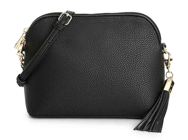 Wholesale new designs crossbody leather clutch bag