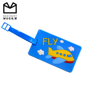 Wholesale Cute Cartoon Long Luggage Tags For Travel Agency