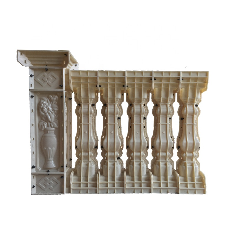 Plastic concrete balustrade <strong>molds</strong> for sale
