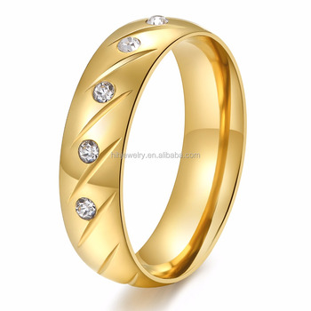 custom stainless steel rings fancy gold ring designs stainless