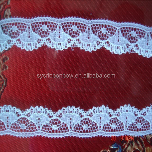 Beautiful narrow decoration lace trim
