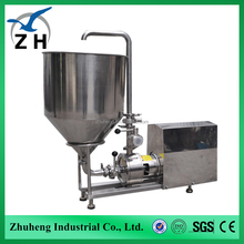 vitamin a and d ointment emulsifying machine hot sale liquid soap emusifying machine in-line shear pump (single stage)