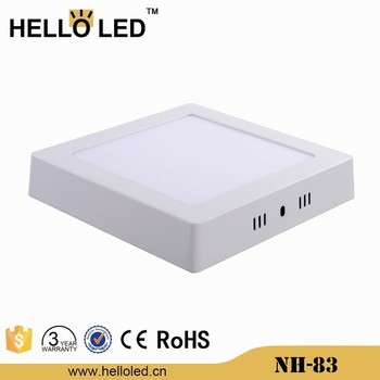 nh 83 36w 40x40cm ultra slim smd led surface panel light for office or commerical place buy. Black Bedroom Furniture Sets. Home Design Ideas