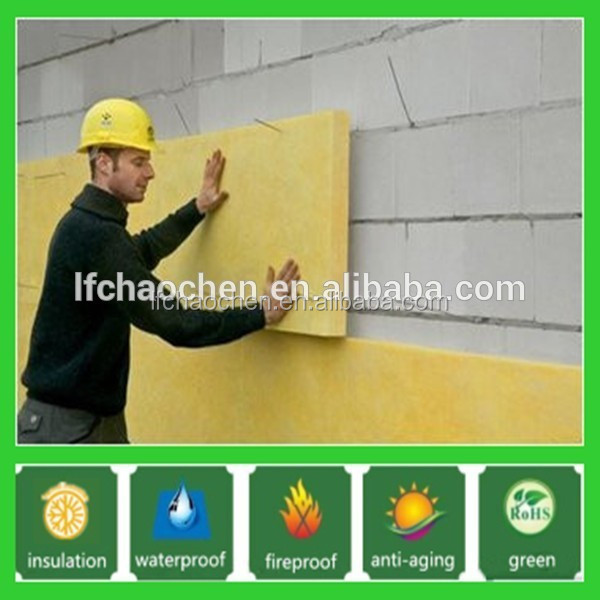 liquid drop reduction rock wool felt for high building