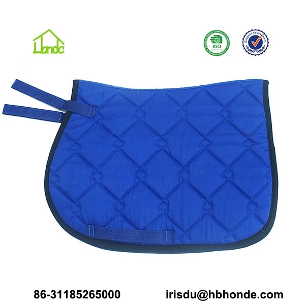 royal blue horse saddle pad
