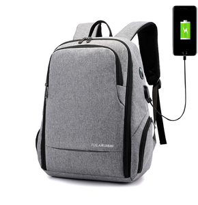 1cbacb3f5c in bulk New design famous brands low moq cut proof Laptop Backpack with USB  charging earphone