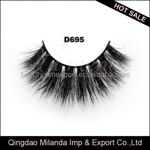 Pure handmade popular fales 3d mink eyelashes