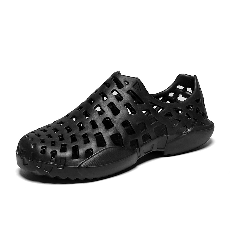 69bff9658025 Get Quotations · Shoes Men s Shoes Sandals Summer Lovers Shoes Hollow-Out  Flip Flop Non-Slip Breathable