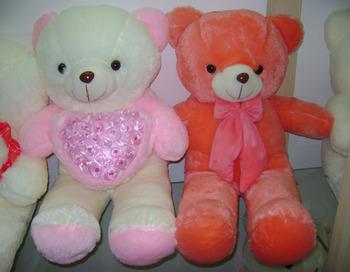 Wholesale Custom Couple Cute Teddy Bears For Valentines Day Buy