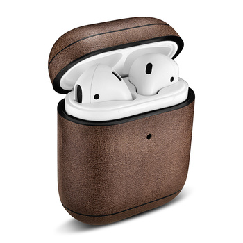 Wireless di Ricarica Caso di Supporto per Apple Airpods 2019 Nuovo Trasduttore Auricolare Custodia In Pelle Per il iphone Airpods