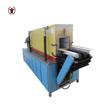 Medium frequency reheating steel billet induction heating furnace