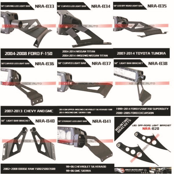 China wholesale 4wd2wd titan curved roof led light bar mounting china wholesale 4wd2wd titan curved roof led light bar mounting bracket for truck aloadofball Images