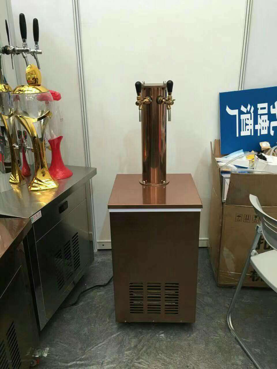 beer kegerator cooler/draft beer tower dispenser for bar