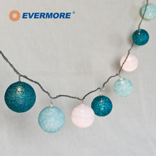 EVERMORE LED Kunststoff Big Ball Laterne <span class=keywords><strong>Lichterkette</strong></span>