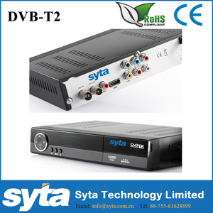 SYTA alibaba china hot sale Home dvb t2 tv box for Thailand, Columbia, Russia, Kenya, Indonesia, Singapore, Malaysia, Italy