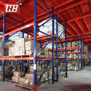 Industrial Shelves Combined Mezzanine Storage China Shelving Supplier Shelf