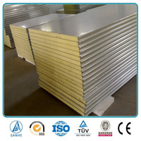 Fireproof and insulation polyurethane foam / PU sandwich roof panel