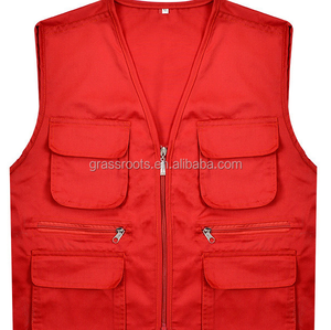 Volunteers clothes and propaganda work vest manufacturer directly sale