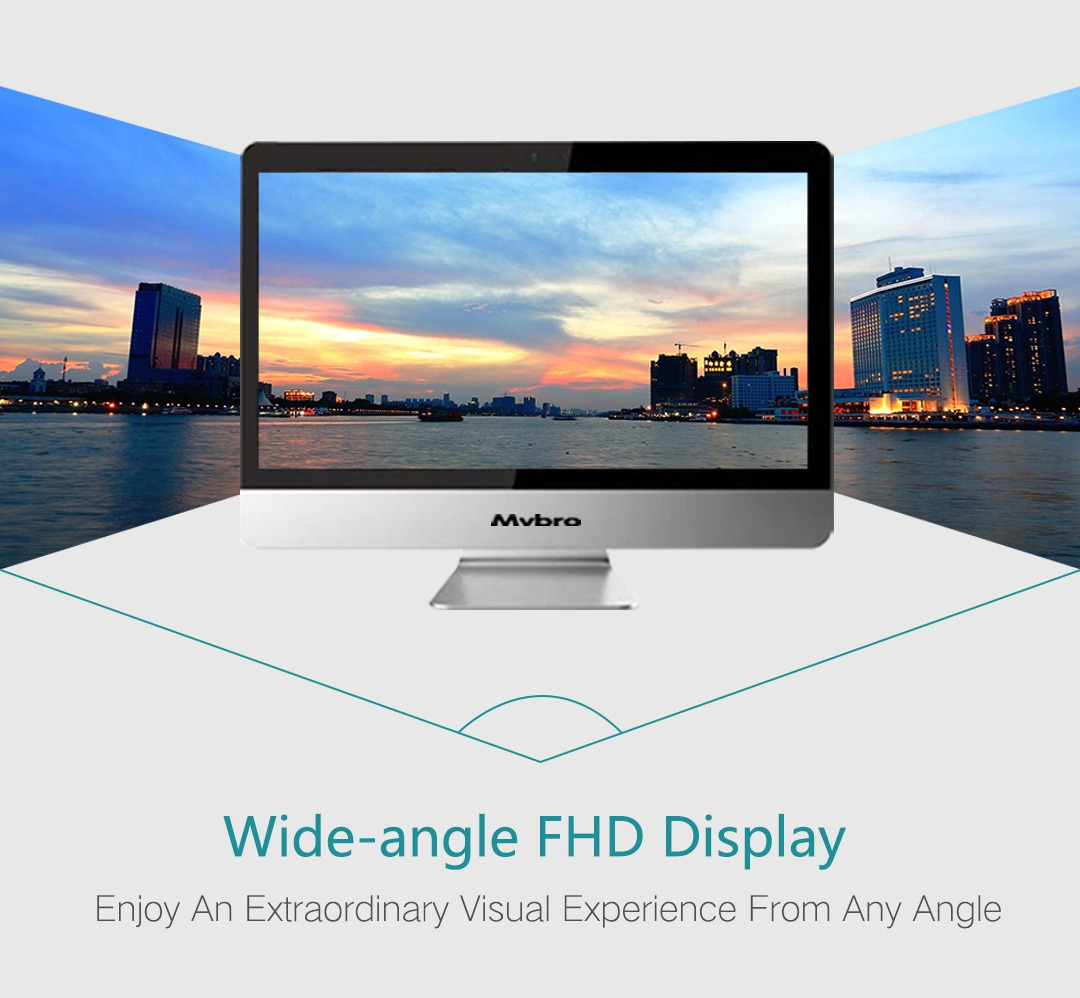 21.5 Inch High-Definition Screen All In One Computer Desktop