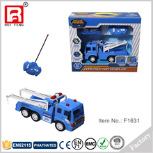 RC remote control police wrecker tow truck toy for sale