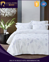 new design pure cotton hotel printed quilt cover from china
