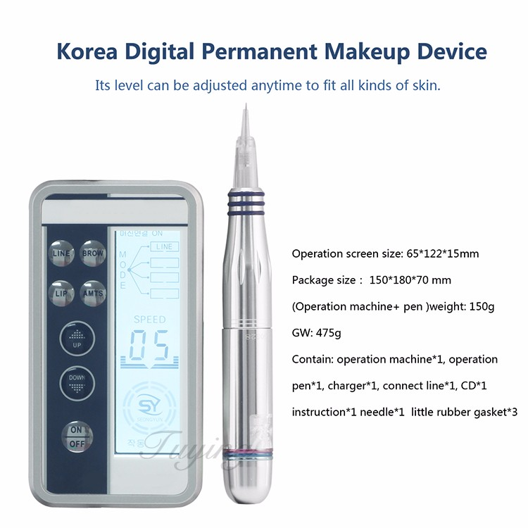 Factory price good offer cosmetic 3d eyebrow tattoo pen
