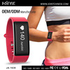 Factory Promotion Silicone Sport Tracker Watch Step Calories Counter