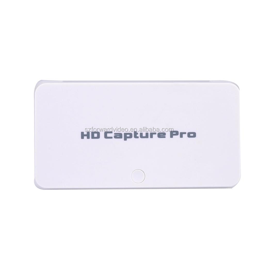 Fully Functional HD Video Capture Stand alone record and live Streaming game capture