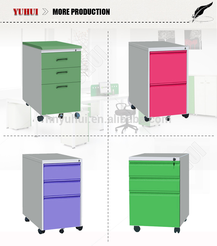 Classic Office-use Metal Steel 3 Drawers Filing Cabinet For Sale ...