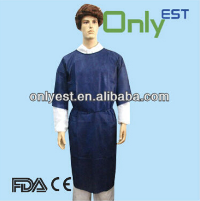 OEM High-Protective disposable non-woven sms/pp medical gowns