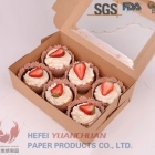 dispossiable Kraft paper packaging box for Cake ,dessert