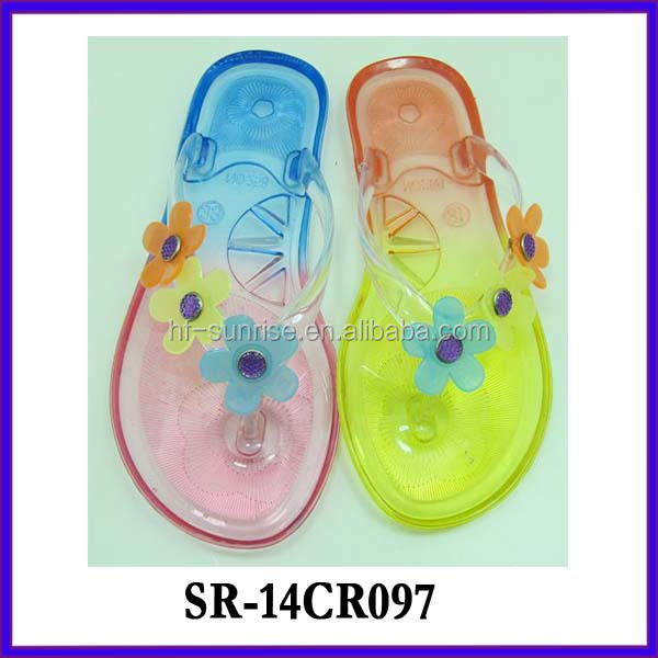 Sr-...4cr096 (2) Flower Jelly Sandals Jelly Shoes Wholesale ...