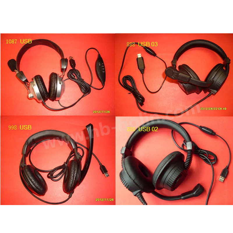 Fresh Noise Cancelling Retro Directional cheap usb headset